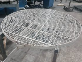 Basket fabrication by White Cross Ring