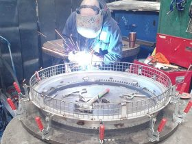 Fabrication by White Cross Ring engineer