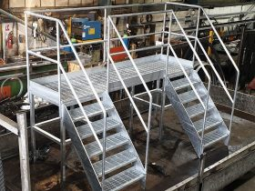Gantry fabricated by White Cross Ring