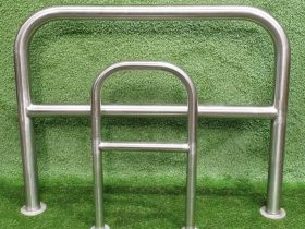 Steel barriers by White Cross Ring