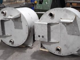 Large tanks built and fabricated by White Cross Ring