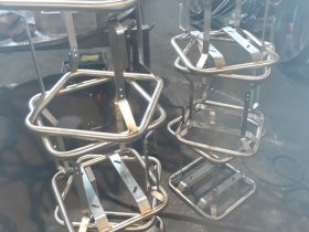 Set of fabricated frames by White Cross Ring