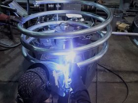 Welding spiral
