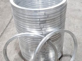 Stack of precision made rolled rings
