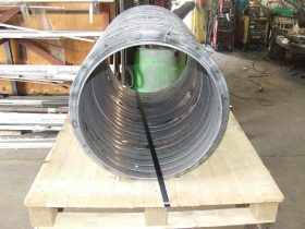 Rolled rings ready for shipping