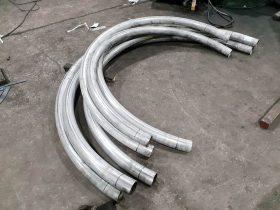 Tube section bending by White Cross Ring