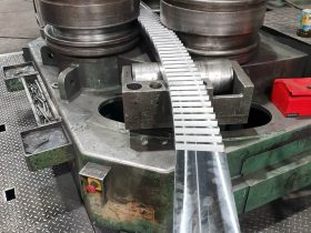Precision bending at White Cross Ring