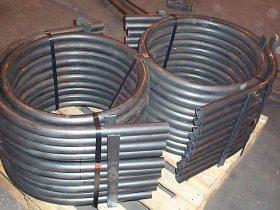Tube bending at White Cross Ring